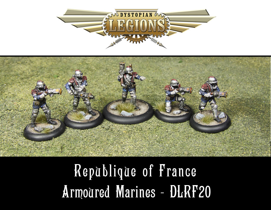 Dystopian Legions: Republique of France: Armoured Marines [SALE]