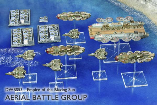 Dystopian Wars: Empire Of The Blazing Sun: Aerial Battle Group
