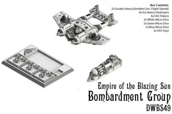 Dystopian Wars: Empire Of The Blazing Sun: Bombardment Group