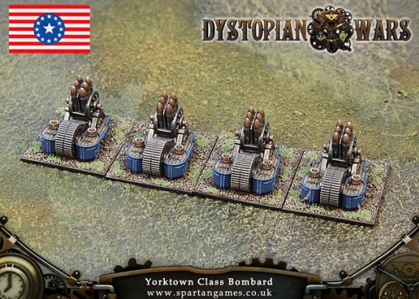 Dystopian Wars: Federated States Of America: Yorktown Class Bombard