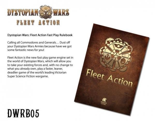 Dystopian Wars: Fleet Action Rules Booklet [SALE]