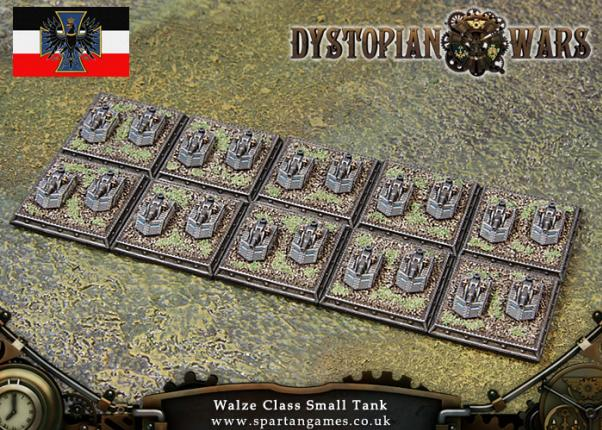 Dystopian Wars: Prussian Empire: Walze Class Small Tank