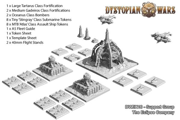 Dystopian Wars: The Eclipse Company: Company Support Group