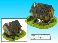 Elso: 15mm Finished Terrain: House with Garden