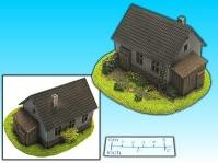 Elso: 15mm Finished Terrain: House with Barn