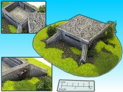 Elso: 15mm Finished Terrain: Bunker