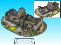 Elso: 15mm Finished Terrain: Long House Ruin