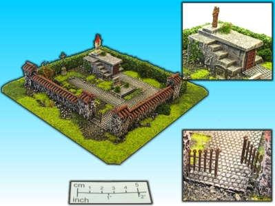 Elso: 15mm Finished Terrain: Graveyard