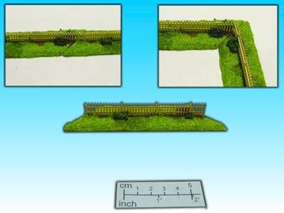 Elso: 15mm Finished Terrain: Wooden Fence