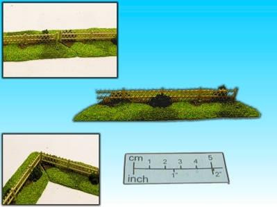 Elso: 15mm Finished Terrain: Rustic Fence