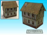 Elso: 15mm Finished Terrain: Half Timbered House 2