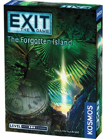 EXIT: THE FORGOTTEN ISLAND [Damaged]