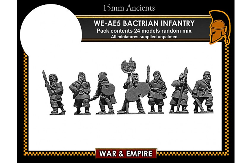Early Achaemenid Persian: Early Persian, Bactrian Infantry