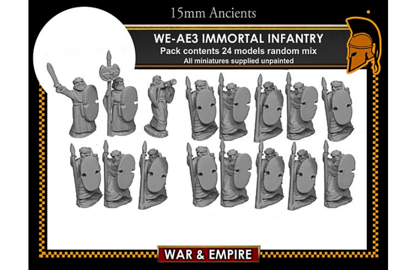 Early Achaemenid Persian: Early Persian, Immortal Infantry