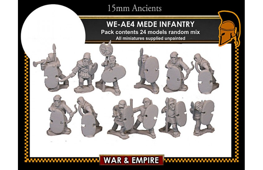 Early Achaemenid Persian: Early Persian, Mede Infantry