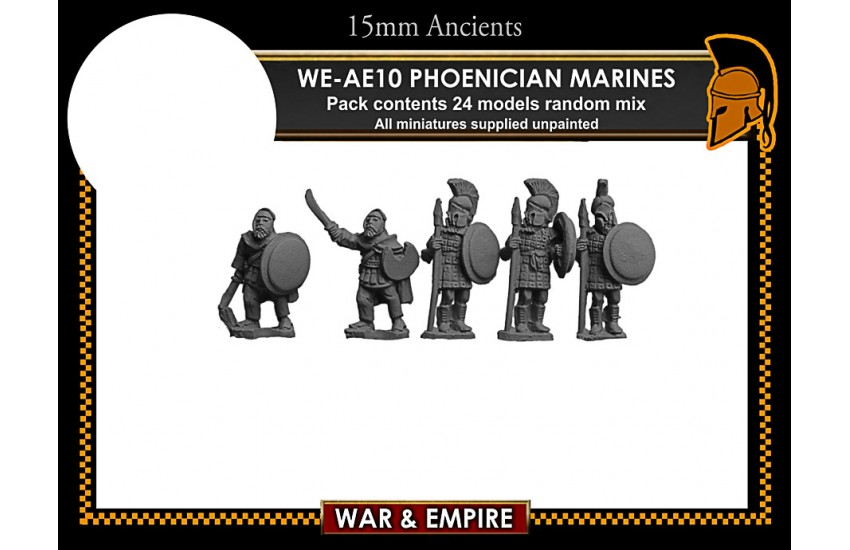 Early Achaemenid Persian: Early Persian, Phoenician Marines