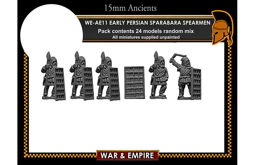 Early Achaemenid Persian: Early Persian Sparabara Shield Bearers