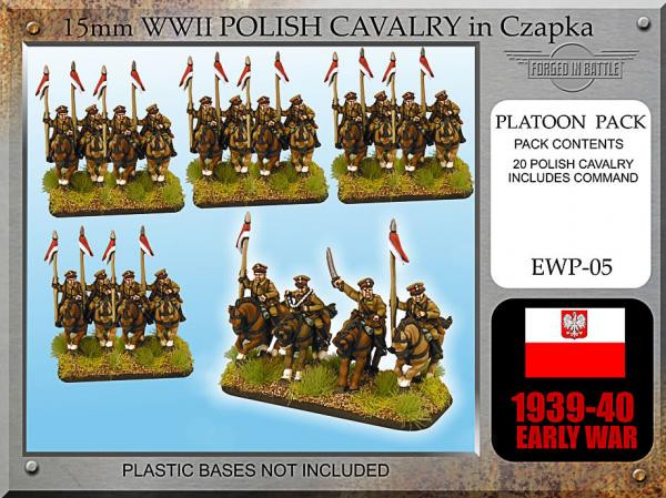 Forged in Battle: Polish: Early War Cavalry in Chapzka & Lance