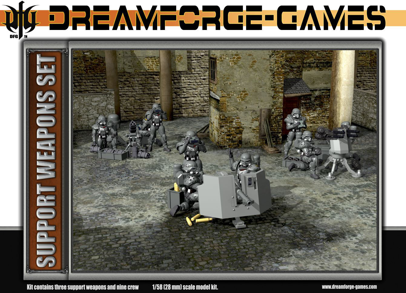 Dreamforge Games: Eisenkern Stormtrooper Support Weapons