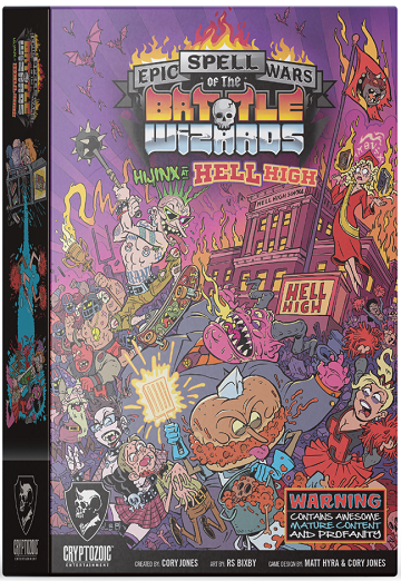 Epic Spell Wars of the Battle Wizards: HIJINX AT HELL HIGH [DAMAGED]