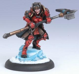 Warmachine: Khador (33034): Epic Forward Kommander Sorscha [SALE]