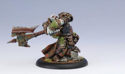 Hordes: Trollbloods (71033): Epic Madrak Ironhide, World Ender
