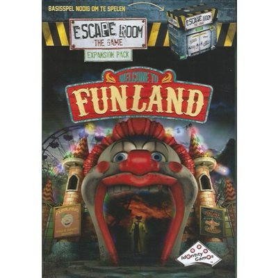 Escape Room The Game: Expansion Pack- Welcome to Funland