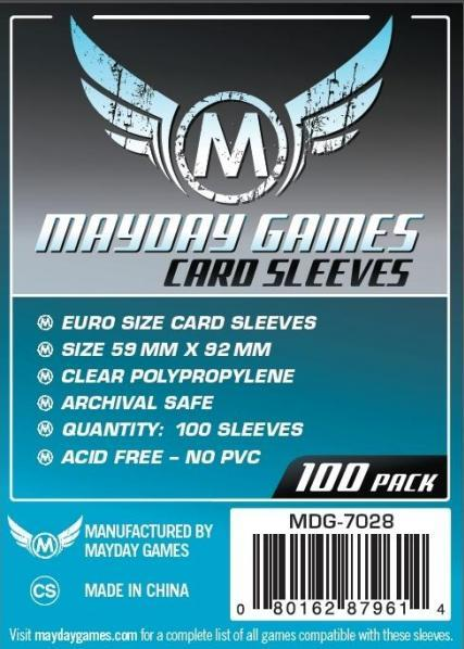 Mayday: Silver Label: Euro Game Sleeves