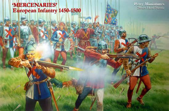 Perry: 28mm Historical: European Infantry 1450-1500