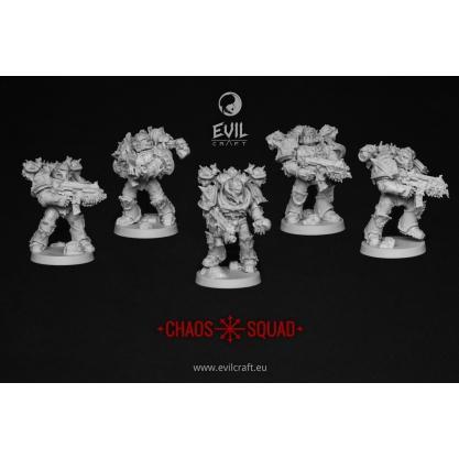 Evil Craft - Evil Craft: Miniatures: Chaos Squad #KROECS001