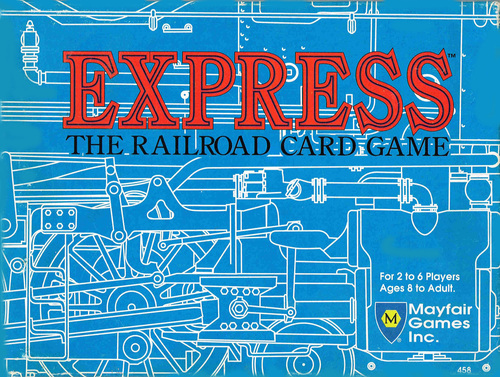 Express (The Railroad Card Game) [SALE]