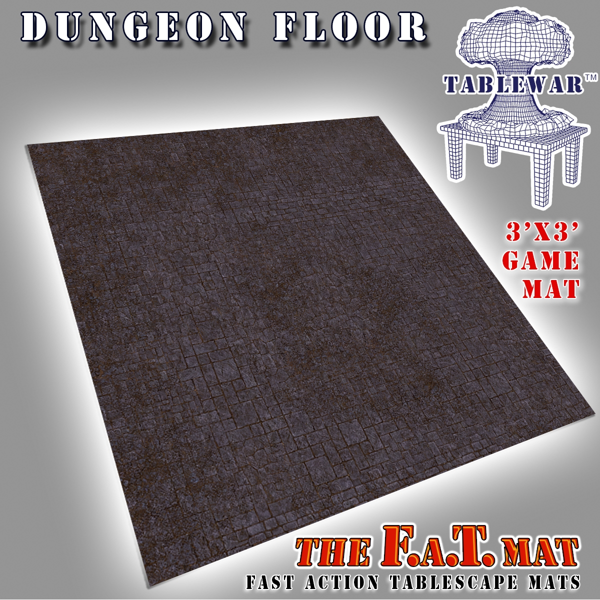 F.A.T. Mats: Dungeon Floor 3×3