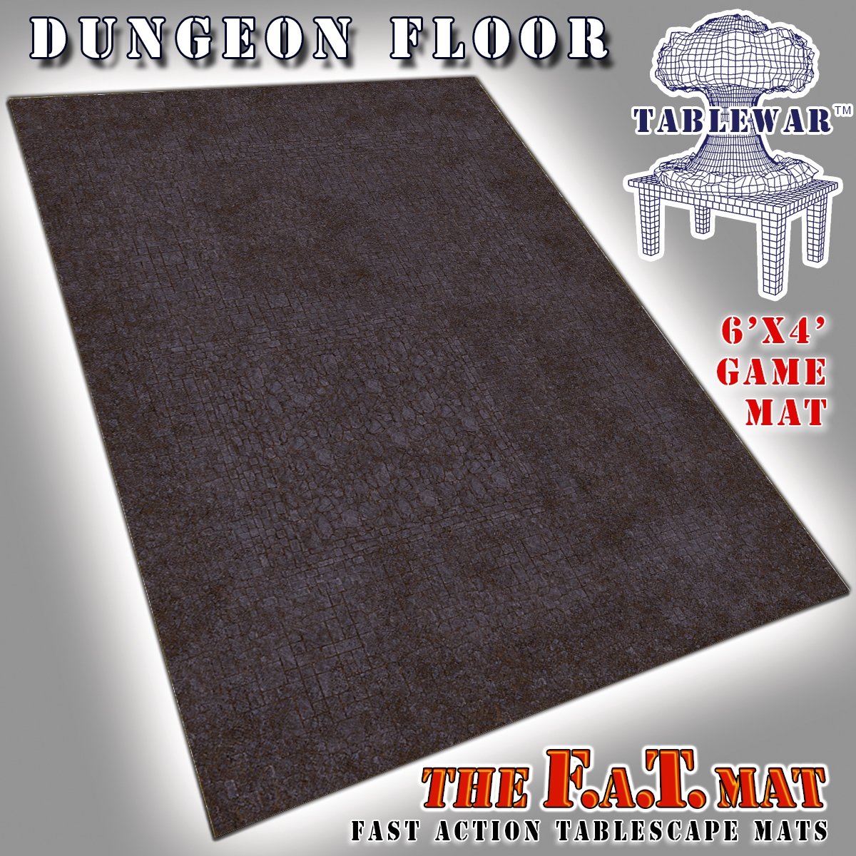 F.A.T. Mats: Dungeon Floor 6×4