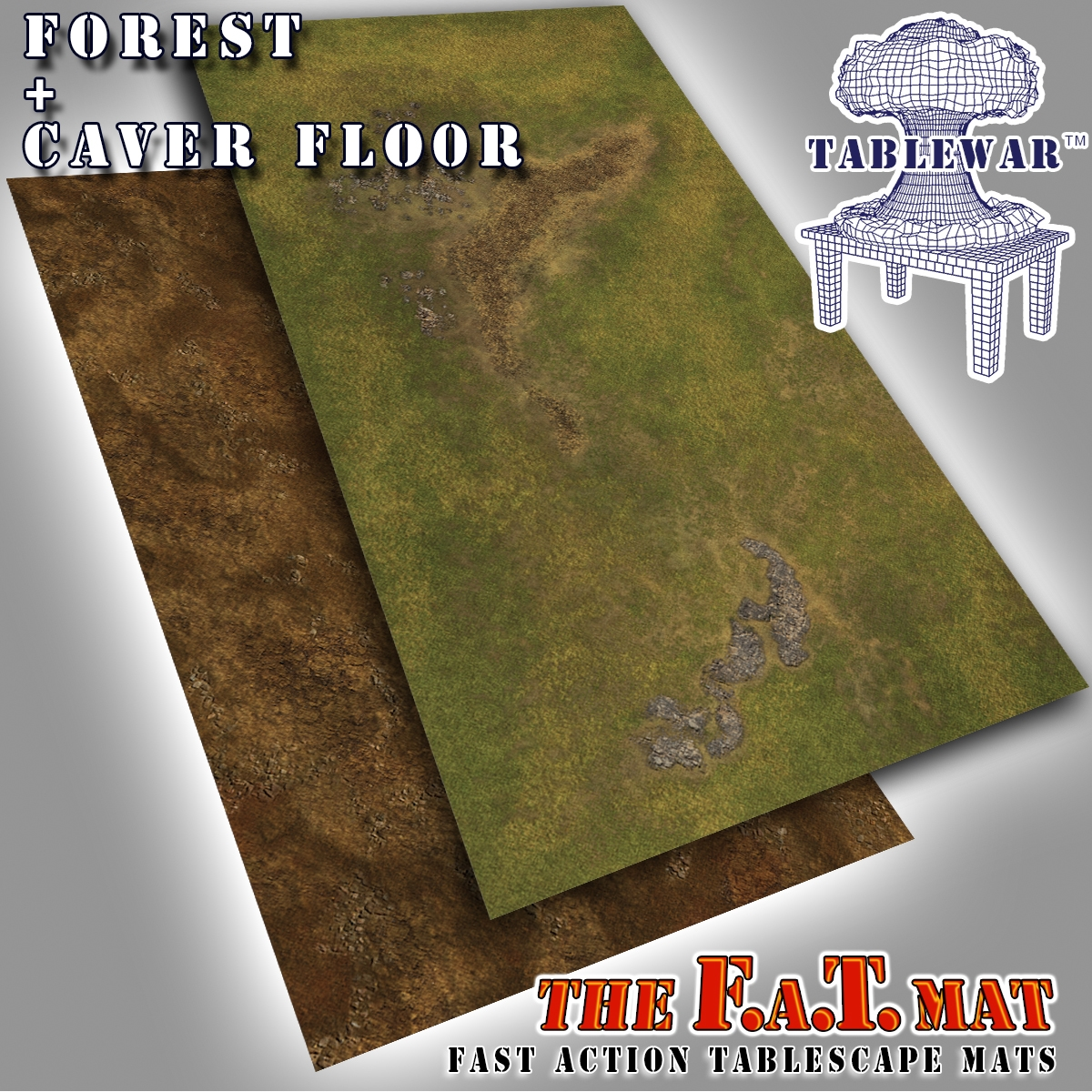 F.A.T. Mats: Forest + Cave Floor 6×3