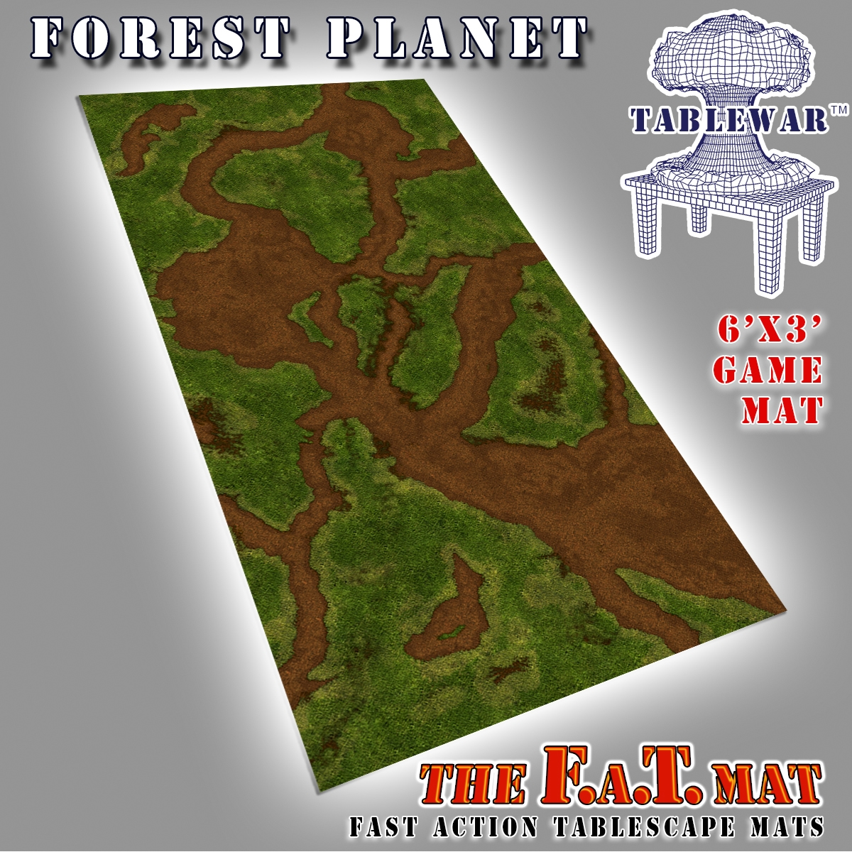 F.A.T. Mats: Forest Planet 6×3