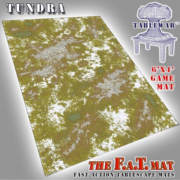 Table War Designs Inc F A T Mats Tundra 6x4
