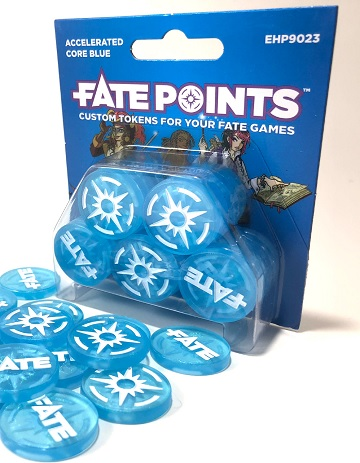 FATE POINTS: ACCELERATED CORE BLUE TOKENS