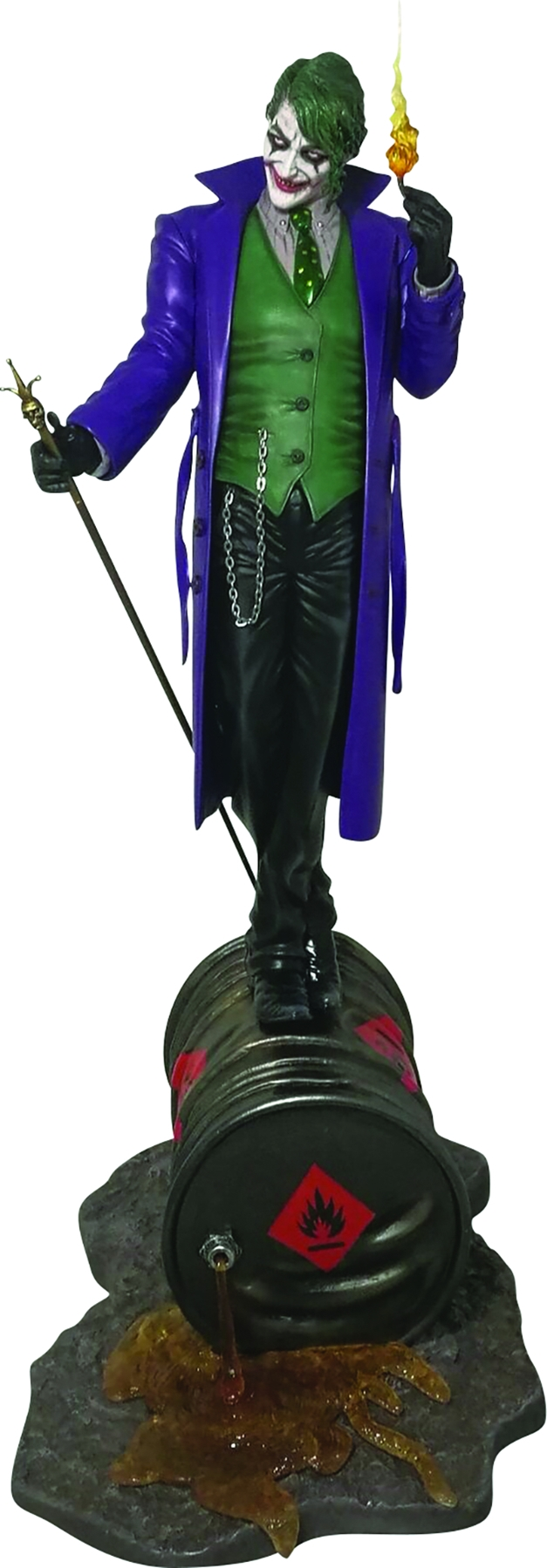 FFG DC COMICS COLLECTION: THE JOKER 1/6 RESIN STATUE (Damaged Box)