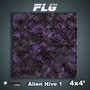 FLG Mats: Alien Hive- Purple (4x4) - FLG Mats: Alien Hive- Purple (4x4)