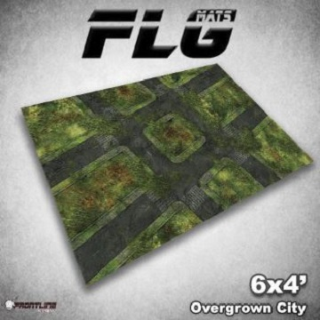 FLG Mats: Overgrown City (6x4)