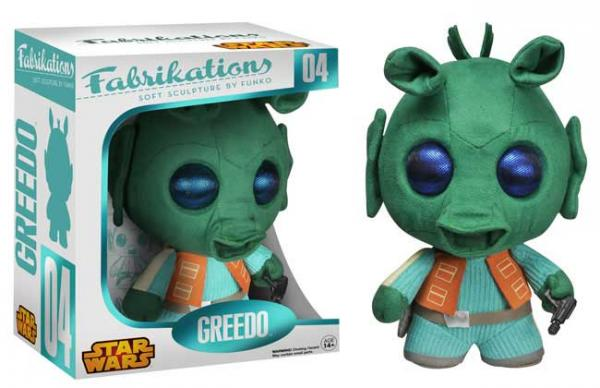 Fabrikations 004: Star Wars- Greedo