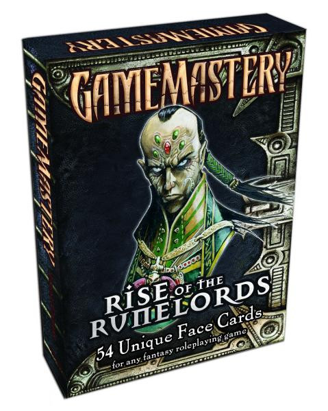 GameMastery: Rise of the Runelords Face Cards