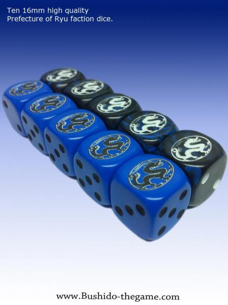 Bushido: The Prefecture of Ryu: Faction Dice