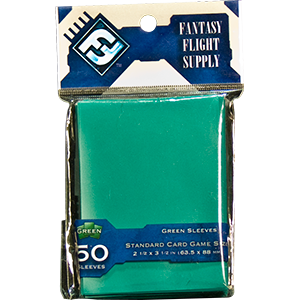 Fantasy Flight Sleeves: Standard Card Game: Green