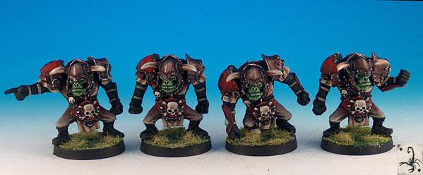 Fantasy Football Miniatures: Orc Linemen