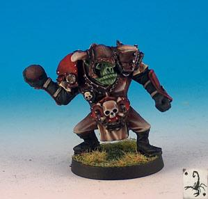 Fantasy Football Miniatures: Orc Thrower