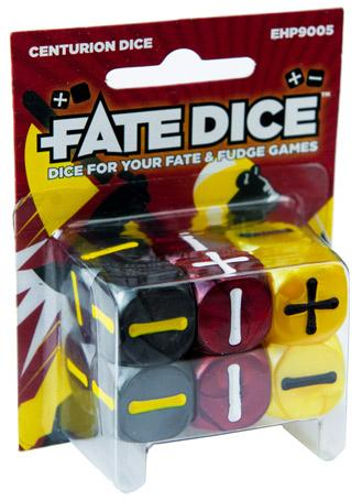 Fate Dice: Centurion Dice [Damaged]