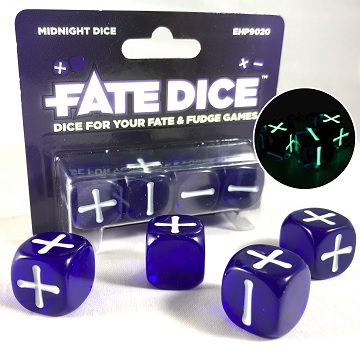 Fate Dice: Midnight Dice