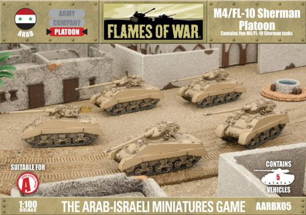 Fate Of A Nation: Arab: M4/FL10 Sherman Platoon