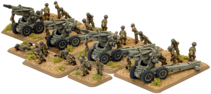 Fate of a Nation: Israeli: Artillery HQ and Crew